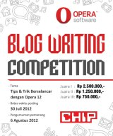 OPERA-CHIP Blog Writing Competition