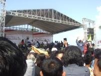 Aksi panggung Padurasta