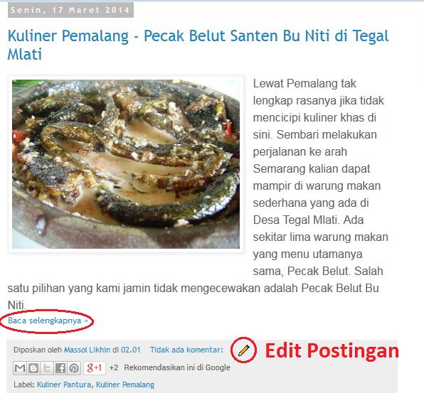 Massol Panjava - Posting Artikel di blogspot_11