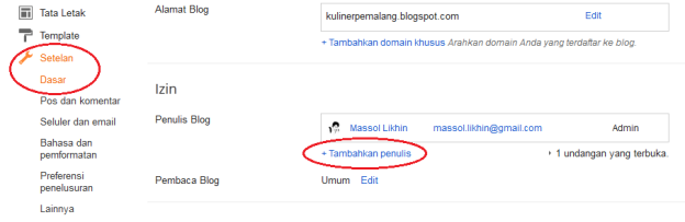Massol Panjava - Tambah User di Blogspot_1