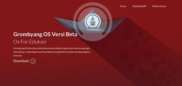 Grombyang OS Versi Beta