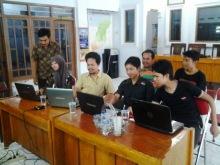 Relawan TIK Pemalang Pelatihan Blog Desa Kaliprau